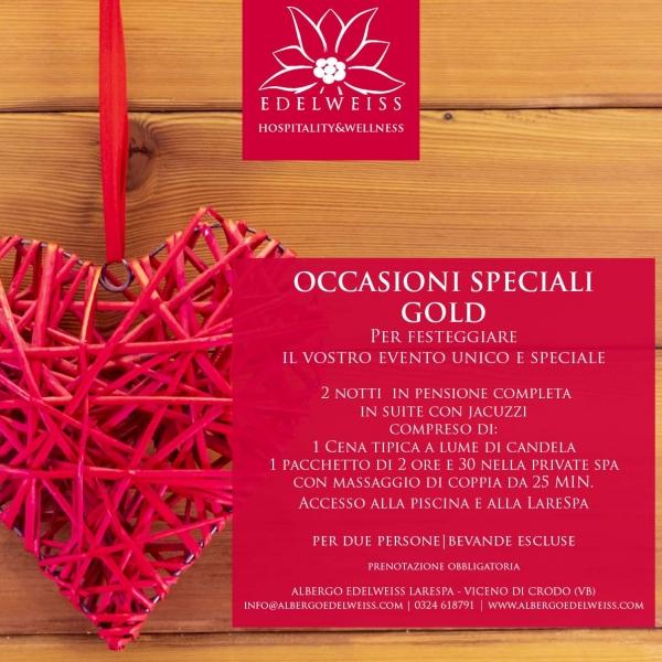 Occasioni Speciali Gold